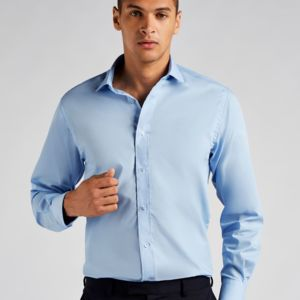 Men's Tailored Fit Long Sleeved Business Shirt Thumbnail
