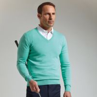 g.Eden cotton v-neck sweater (MKC6884VN-EDEN) Thumbnail