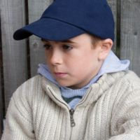 Childrens Low Profile Heavy Brushed Cotton Cap Thumbnail