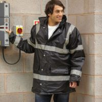 Hi-vis security jacket (HVP301) Thumbnail